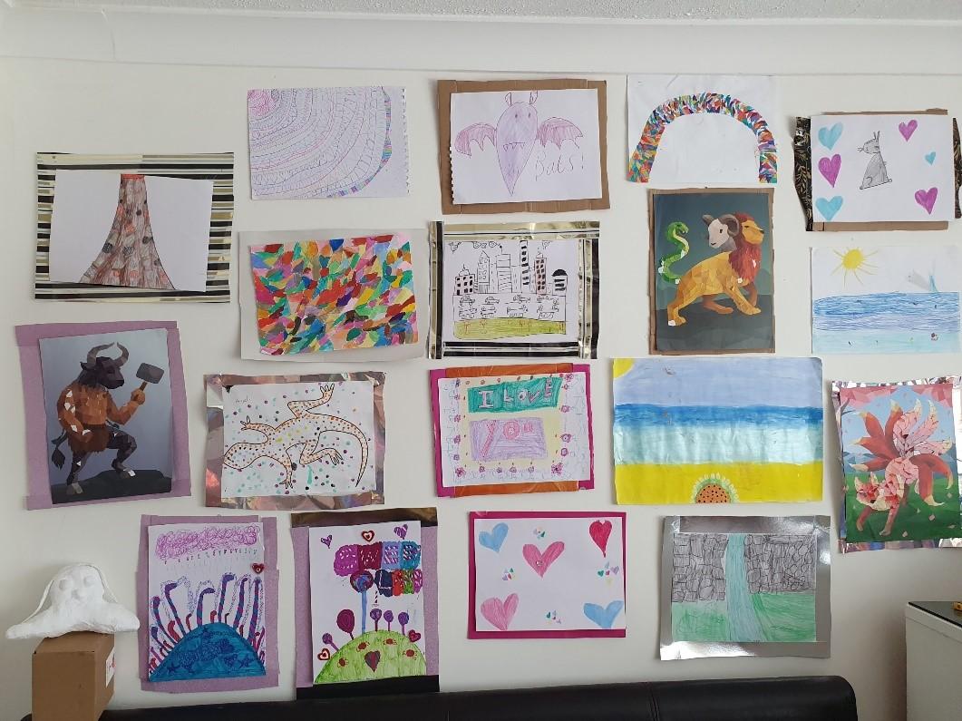 TNAGW Art Gallery at Home